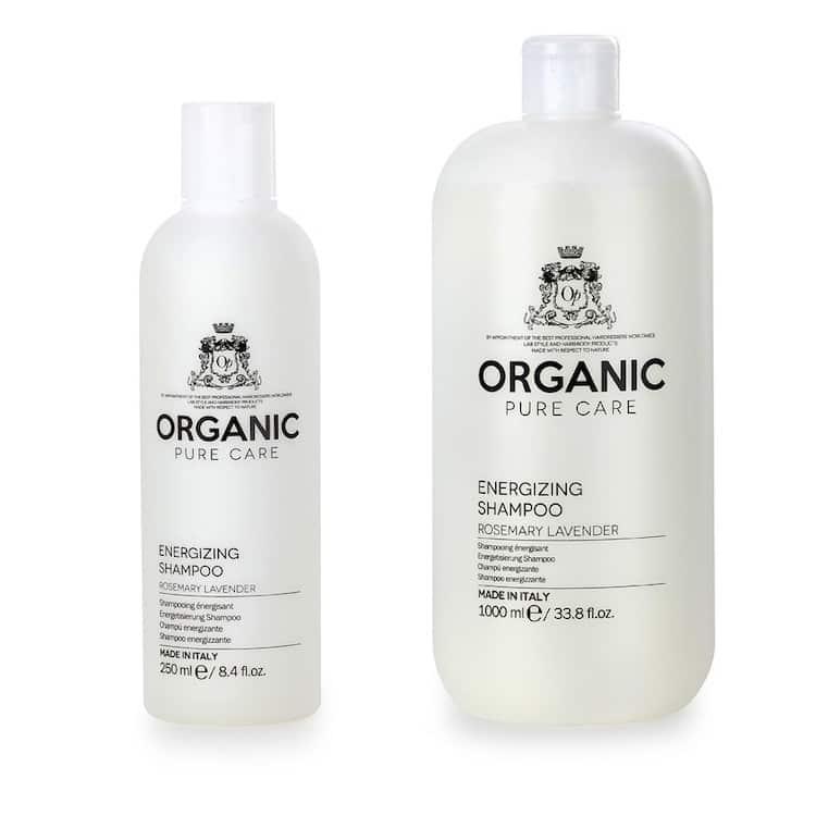 organic pure care energizing shampoo