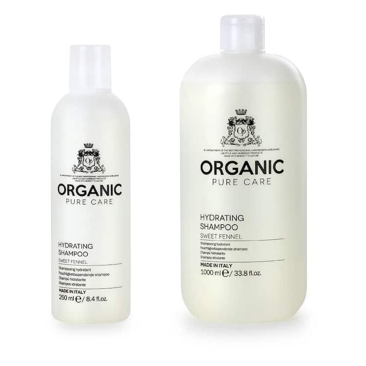 organic pure care hydrating shampoo